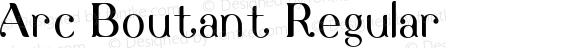 Arc Boutant Regular Version 1.000