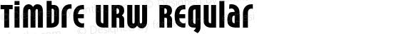Timbre URW Regular Version 1.000;PS 1.10;hotconv 1.0.57;makeotf.lib2.0.21895 DEVELOPMENT