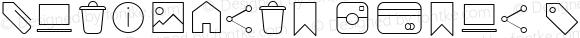 Antipasto Icons Thin