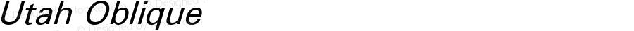Utah Oblique Version 3.1