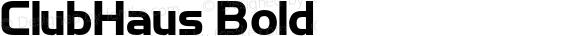 ClubHaus Bold 1.000