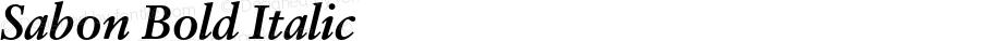 Sabon Bold Italic Version 1.002;PS 001.001;Core 1.0.38;makeotf.lib1.6.5960