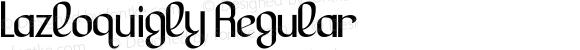 Lazloquigly Regular