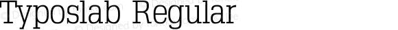 Typoslab Regular