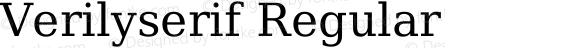 Verilyserif Regular