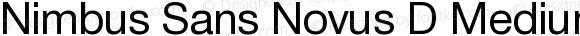 Nimbus Sans Novus D Medium 001.005