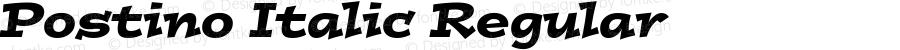 Postino Italic Regular 001.001