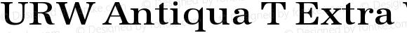 URW Antiqua T Extra Wide Medium 001.005