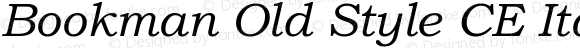 BookmanOldStylCE-Italic