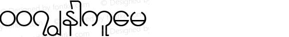 007 Regular Macromedia Fontographer 4.1 10/28/01