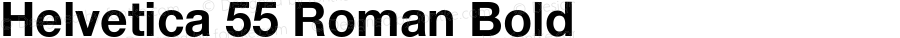 Helvetica 75 Bold