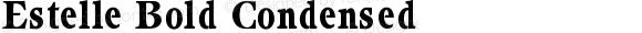 Estelle Bold Condensed