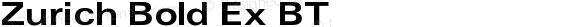 Zurich Bold Ex BT V1.00
