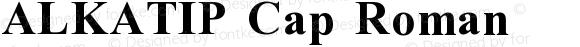ALKATIP Cap Roman