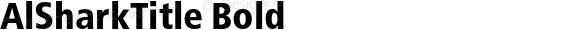 AlSharkTitle Bold Version 1.001 2010