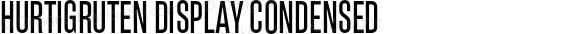 Hurtigruten Display Condensed