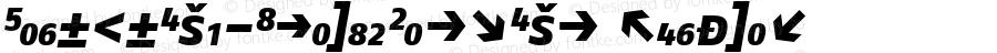 FagoNoExb-ItalicCapsExp Regular Version 4.3; 2000