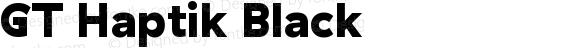 GT Haptik Black