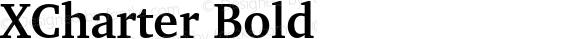 XCharter Bold
