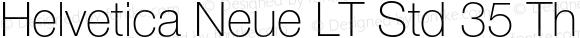 Helvetica Neue LT Std 35 Thin Version 2.100;PS 005.000;hotconv 1.0.67;makeotf.lib2.5.33168