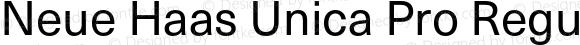 Neue Haas Unica Pro