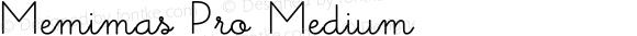 Memimas Pro Medium