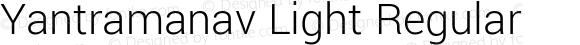 Yantramanav Light Regular