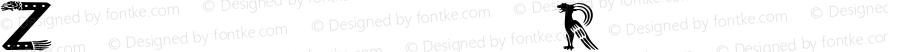 Zoomorphica Regular Altsys Fontographer 4.0.3 1/1/98