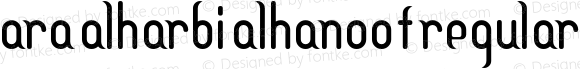 Ara Alharbi Alhanoof Regular Version 1.00 August 7, 2012, initial release