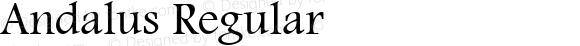 Andalus Regular