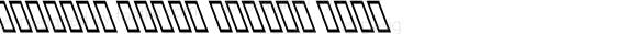 Mj_East Extra Italic Bold