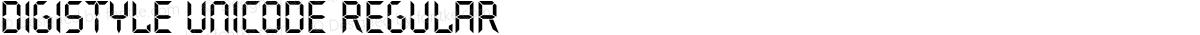 Digistyle Unicode Regular