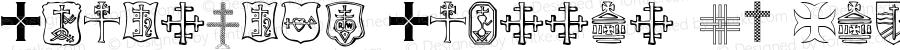 Christian Crosses IV Regular 4.8.00