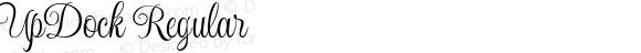 UpDock Regular Macromedia Fontographer 4.1.5 1/10/04