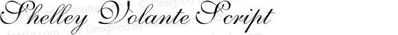 Shelley-VolanteScript