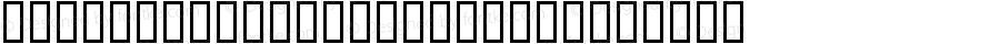 PGandamar_HeadLineAA Regular Macromedia Fontographer 4.1 3/6/98
