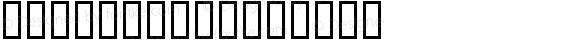 PA_Micho Regular Macromedia Fontographer 4.1 2/26/98