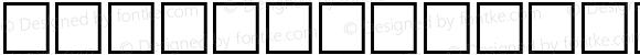 Italic Outline Art Regular Platinum Technology 96
