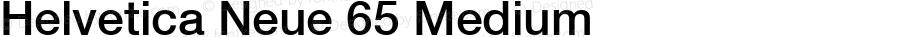 Helvetica Neue 65 Medium OTF 1.0;PS 001.002;Core 1.0.22