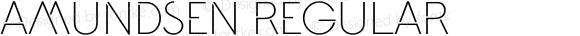 Amundsen Regular Version 1.000 2013 initial release