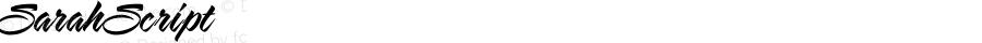SarahScript ☞ Version 3.000;com.myfonts.charlesborges.sarah-script.sarah-script.wfkit2.2ZVF