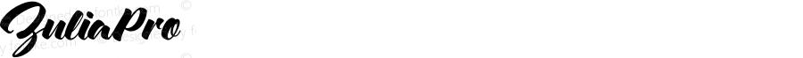 ZuliaPro ☞ Version 1.000;com.myfonts.sudtipos.zulia-pro.regular.wfkit2.4331