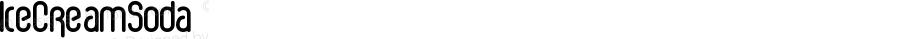 IceCreamSoda ☞ Version 001.000;com.myfonts.fenotype.ice-cream-soda.regular.wfkit2.3e98