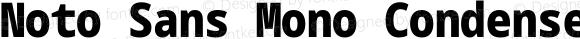 Noto Sans Mono Condensed Black