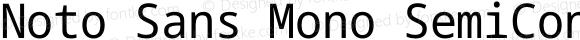 Noto Sans Mono SemiCondensed