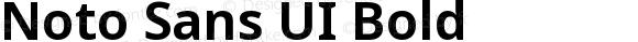 Noto Sans UI Bold Version 1.001; ttfautohint (v1.6)