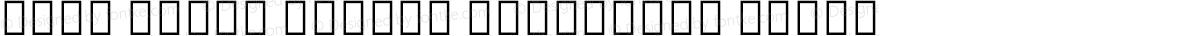 Noto Serif Hebrew Condensed Black