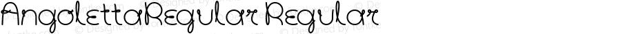 AngolettaRegular Regular 1.000