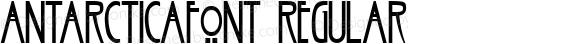 ANTARCTICAfont Regular Altsys Fontographer 3.5  3/30/01
