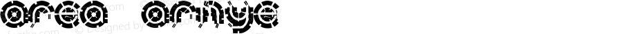 area ARMYe Macromedia Fontographer 4.1.5 9/4/01